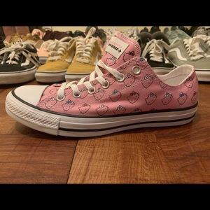 Converse CTAs OX Hello Kitty Pink Women's Size 8.5